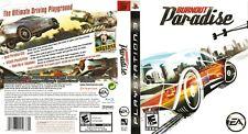 Burnout Paradise (Sony PlayStation 3, 2008) CIB