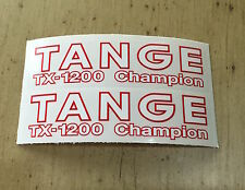 TANGE TX-1200 CHAMPION FORK DECALS - 1 pair of fork decals