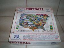 "Football Art Map Jigsaw Puzzle 18""x24"""