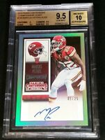 /25 MARCUS PETERS RC AUTO BGS 9.5/10 *2015 Contenders Rookie Championship Ticket