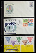 Lot 29235 Collection FDC's of Surinam 1960-2006.
