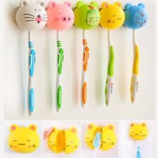 Toothbrush Holder Suction Home Bathroom Cute Lovely Various Cartoon Animal Head