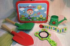 Kaper Kidz Children's Insect & Gardening Fun! Garden Tools Play Set in Tin Case!