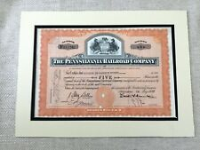 More details for american rail road stock certificate the pennsylvania railroad company railway