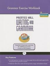 WRITING AND GRAMMAR EXERCISE WORKBOOK 2008 GR10