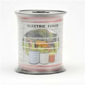 Polytape 200m Roll 12mm Electric Fence Hot Tape Energiser