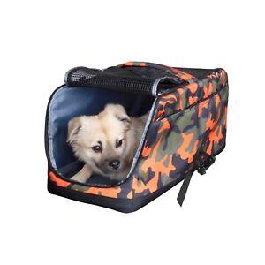 Dog Carrier Pet Shoulder Bag Car Safety Belt Attachment Puppy Cat Travel Bed Air