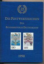 Bund Jahrbuch 1998 postfrisch kompl.............................................