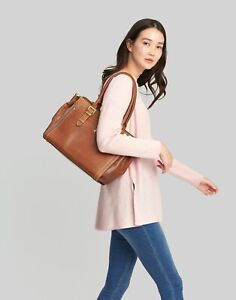 Joules Womens Hathaway Leather Everyday Bag - Tan - One Size