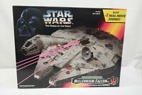 Millenium Falcon Star Wars Power of the Force Kenner 1995 Sealed TY