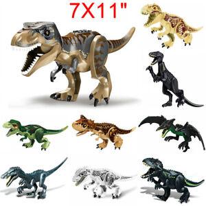 Jurassic World Indominus Rex Dinosaurier Tierfigur Modell Kinder Blöck Spielzeug