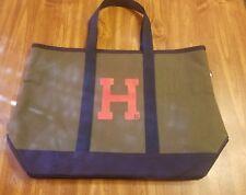 Tommy Hilfiger green & Blue Bucket Hobo Large Tote Bag Handbag, Free shipping