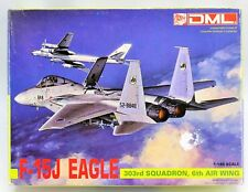 DML F-15J Eagle 303rd Squadron 6th Air Wing Aircraft Model Kit 1990 #4519 1:144