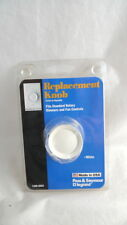 1 Replacement WHITE KNOB Dimmer & Fan Control PASS & SEYMOUR