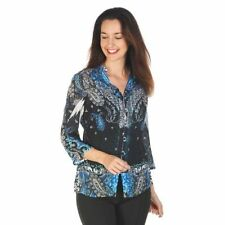 Seven Sisters Polyester Floral Tops & Blouses for Women