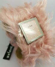 Ladies Axcent of Scandinavia Fluffy Pink  X3369 Mesh Strap Watch *New Battery*A