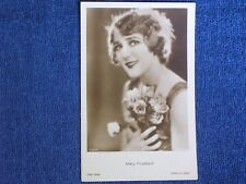 Mary Pickford/Sexy Silent Movie Actress/Ross Verlag Sepia RPPC/Unposted