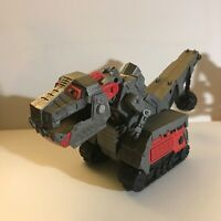 Dinotrux Armored Ty Rux Talking Toy 2016 Mattel Construction Dinosaur