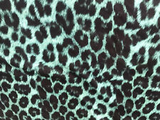 BY THE MTR LEOPARD Printed Polyester Lycra Swimwear Fabric 150 Cm 4 way stretch