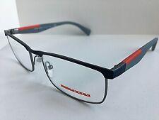 New PRADA Sport VPS 54F TWQ-1O1 53mm Rx Men's Eyeglasses Frame Italy