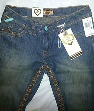 """Women's  Luxirie """"A Labour of Love"""" by Lrg stitched design jeans petite size 27"""