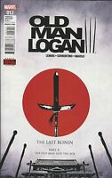 Wolverine Comic Issue 12 Old Man Logan Modern Age First Print 2016 Lemire Maiolo