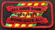 All Gave Some 1959-1975 POW MIA KIA Embroidered Biker Patch