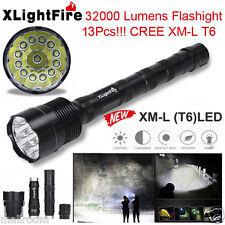 XLightFire 32000LM 13x CREE XML T6 5Mode 18650 Taschenlampen LED Flashlight