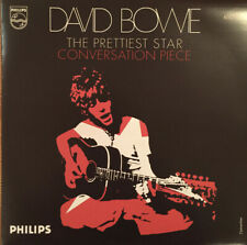 "DAVID BOWIE THE PRETTIEST STAR CONVERSATION PIECE 7"" PS ORANGE VINYL 150 COPIES"