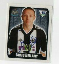 Merlin premier league football sticker 2003 Newcastle United Craig Bellamy No435