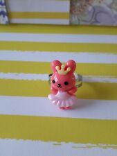 Pink Bunny Princess Adjustable ring
