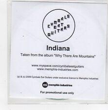 (FN184) Cymbals Eat Guitars, Indiana - 2009 DJ CD