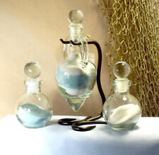 Personalized Unity Sand Ceremony Set - Amphora style with glass stoppers