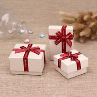 Wholesale High Quality Gift Paper Boxes Bag Necklace Earrings Ring Jewelry Set b