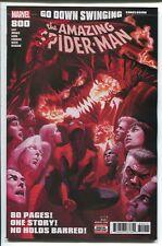 AMAZING SPIDER-MAN #800 - ALEX ROSS MAIN COVER - MARVEL COMICS/2018
