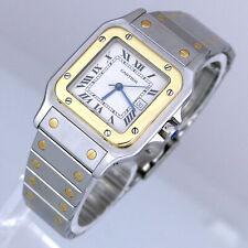 Cartier Santos - Automatik - Stahl/ 750/- Gelbgold - Top Zustand