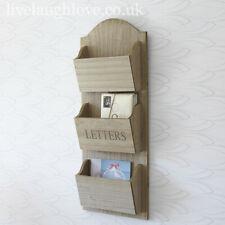 60 x 24 cm Wall Hanging Wooden Letter Holder