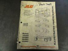 JLG 1932E2 2032E2 2646E2 3246E Scissor Lift Parts Manual  3120738  1999