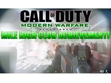 Modern Warfare Remastered Mile High Club & Best of The Best Achievement XBOX ONE