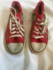 Sketchers Womens Sneakers Size 9 Soho Lab Red
