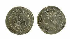 128) Regno di NAPOLI Carlo V Imperatore (1519 - 1554) Mezzo Ducato