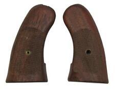 Harrington & Richardson Hunter Revolver Grips, Checkered Walnut