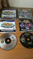 PS1 games, Moto Racer 1+2, Bundle, PAL, Complete, Tested, Playstation 1
