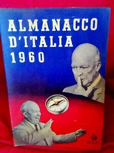 Almanacco d'Italia 1960 Prima edizione