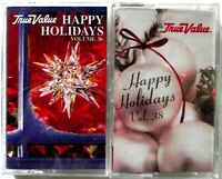 True Value Happy Holidays Volumes 36 38 Christmas Cassettes 2001 2003 New Sealed