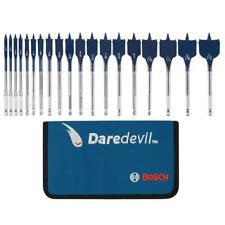 "BOSCH 19 Pice Set 6"" - 150mm Long DareDevil Wood Drill Spade Bit AUSTRALIA Post"