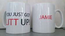 PERSONALISED 'YOU JUST GOT LITT UP' NOVELTY MUG SUITS PERFECT GIFT PRESENT 104