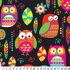 Owls Minky Plush Fleece Throw Blanket