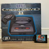 Sega Megadrive 2 Console Boxed & Sonic 2 Game Cart Included *WORKING*