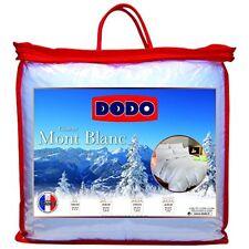 Dodo couette naturelle Mont Blanc Percale 70 Duvet D'oie et de Canard 260 X...